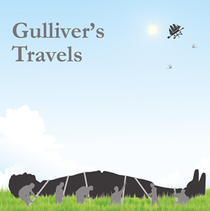 gullivers travels by london touring theatre