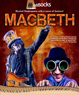 Oddsocks Theatre's Macbeth comedy at Carn Marth amphitheatre